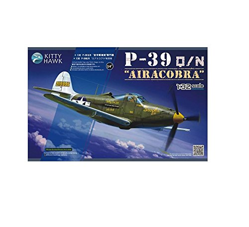 Kitty Hawk P-39Q/N Airacobra Airplane Model Kit (1/32 ()