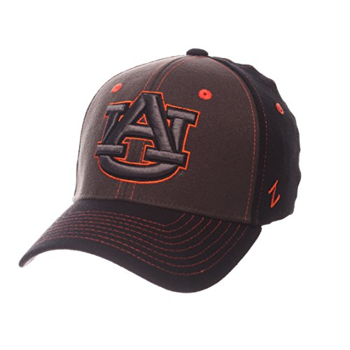 (Zephyr NCAA Auburn Tigers Children Boys Kids Vibe Cap, Youth, Gray/Black)