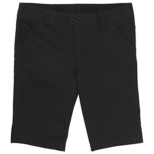 Genuine School Uniform Boy/'s Black Pleated Front Twill Shorts 10 or 14 Size 6