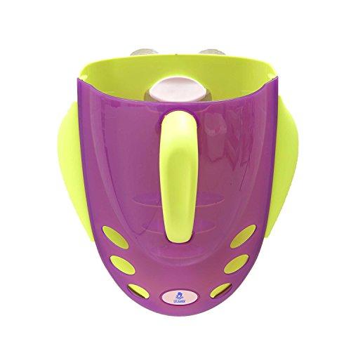 Lil' Jumbl Bath Tub Toy Super Scooper Organizer & Storage Holder Bin (Purple) ()