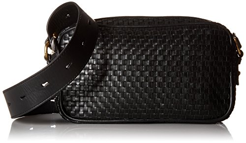 Haan Zoe Camera Collection Cole womens CHR11604 Bag Black Woven Bq7nZUw