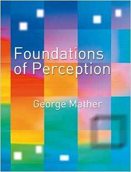 sensation and perception essay questions