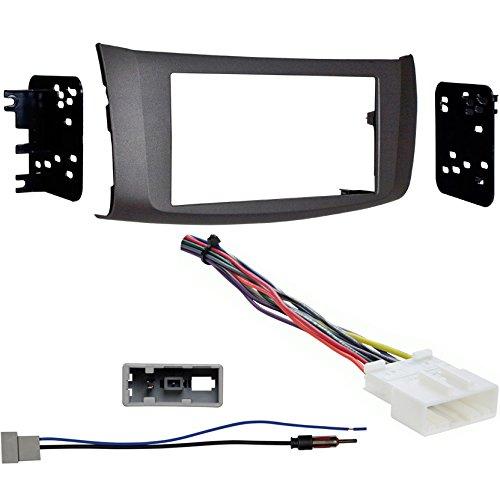 Metra 95-7618G Gray Dash Kit + Harness + Antenna Adapter for