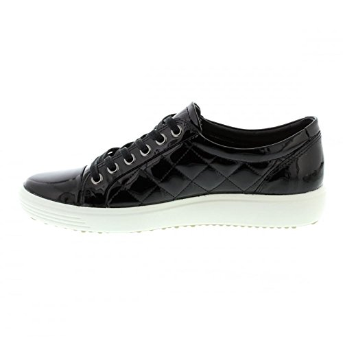 Pictures of ECCO Women's Soft 7 Quilted Tie 430083 black 2
