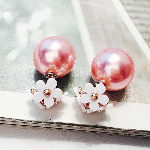 - Crookston Christmas Fashion Crystal Pearl Deer Ear Stud Flower Earrings Women Jewelry Gift   Model ERRNGS - 2004  