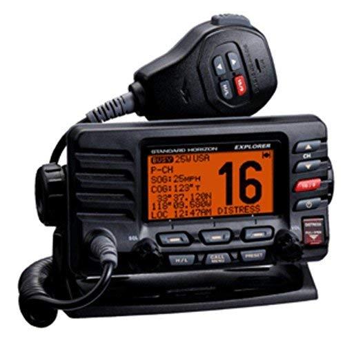 - Standard Horizon GX1600B Explorer Ultra Compact Class D DSC- Black consumer electronics