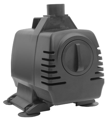 Smart Garden VP-1650 Infinity 1650 GPH Magnetic Drive In-Line and Submersible Pump with a Ceramic Shaft And 16-Foot Power Cable