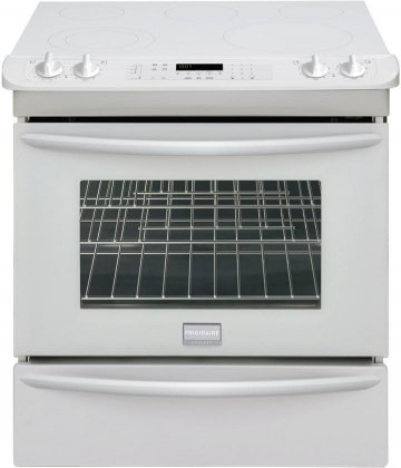 Frigidaire FGES3045KW Gallery 30 Slide-In Electric Range ...