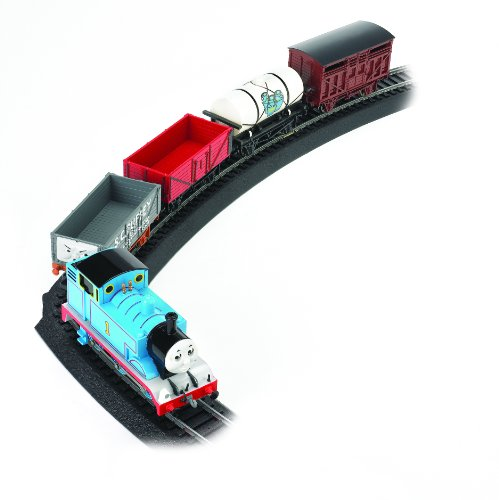 Bachmann Trains Thomas Fun with Freight Set Ready - To - Run Ho Scale Train Set
