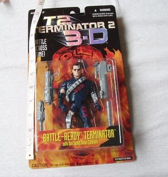 [TERMINATOR 2 3D] BATTLE-READY TERMINATOR / Battle Ready Terminator [figure] (japan import)