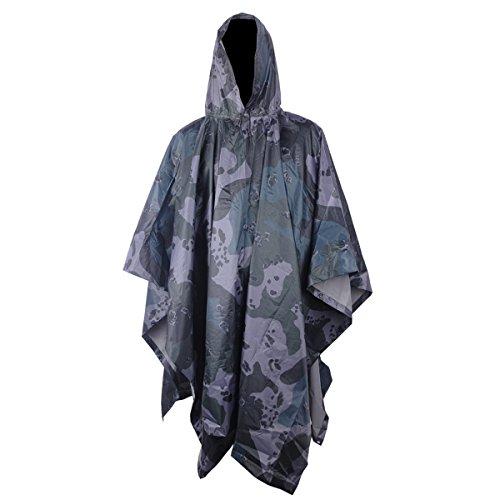 UNIQUEBELLA Lightweight Multifunction Camouflage Waterproof