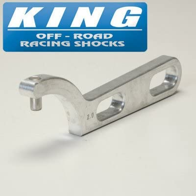 Pacific Customs King Shocks Black Anodized Engraved with Size Spanner Nut Wrench for King 2.0 Shocks