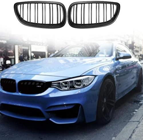WOVELOT Black Front Kidney Grill Grille For Bmw E92 E93 M3 3 Series Coupe 2006-2010