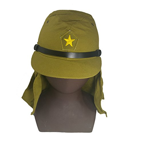 se Solider Hat & Flap Neck Cover Cap 59 CM (Japanese Wwii Replica)