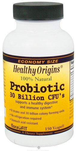 Healthy Origins Probiotic 30 Billion Cfu, 150 Vcaps Review