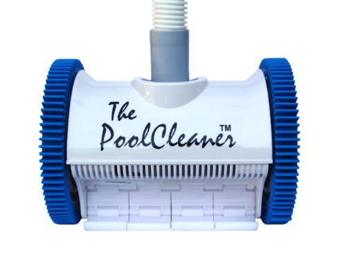 Poolvergnuegen PV896584000013 Hayward 896584000-013 The Pool Cleaner Automatic Suction Pool Vacuum, 2-Wheel, White