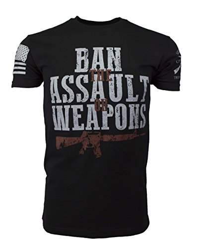 Grunt Style HYDRA Tactical Ban Assault Weapons Men's T-Shirt, Color Black, Size - Re Ban