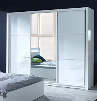 kleiderschrank wei hochglanz. Black Bedroom Furniture Sets. Home Design Ideas