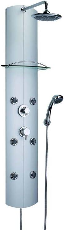 Columna de ducha con hidromasaje Valentín Totem grifo termostático ...