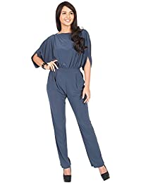 Amazon.com: Grey - Jumpsuits & Rompers / Jumpsuits, Rompers ...