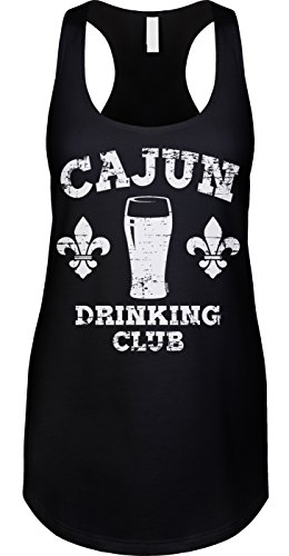 Blittzen Womens Tank Cajun Drinking Club, M, - On Bourbon New Street Shops Orleans