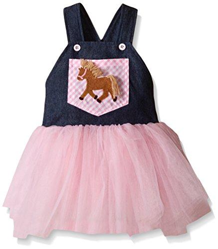 Mud Pie Girls Overall Dress