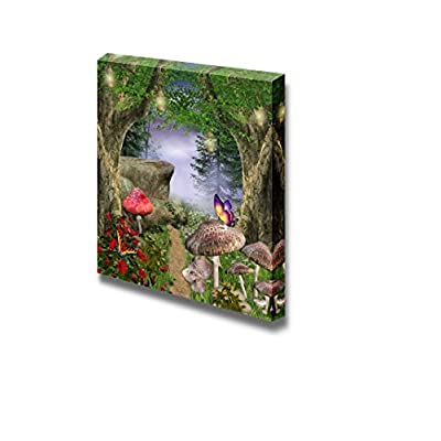 Wonderful Craft, With Expert Quality, Beautiful Forest Enchanted Pathway Wall Decor