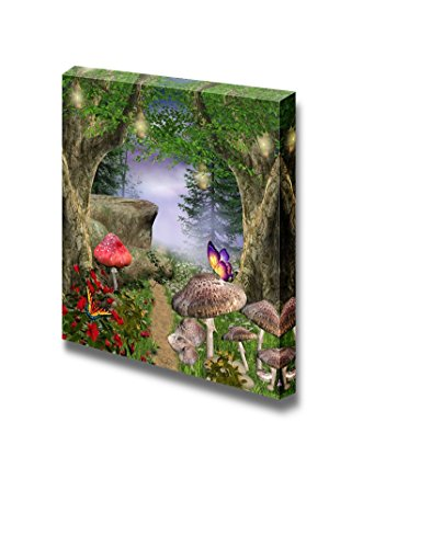 Beautiful Forest Enchanted Pathway Wall Decor