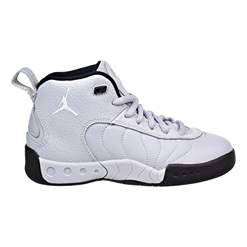 Jordan Boy's Jumpman Pro Basketball Shoe, Wolf Grey/White-Black-White 10.5C]()