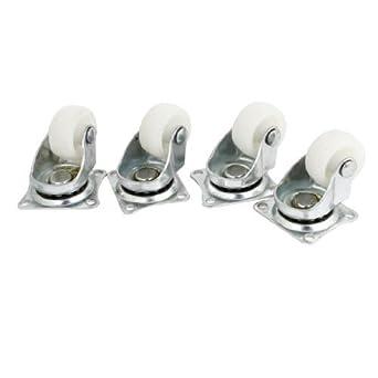 eDealMax a13072500ux1499 Placa giratoria 1 Diámetro de las ruedas giratorias PP de lavandería Carrito de panadería (4 piezas): Amazon.com: Industrial & ...