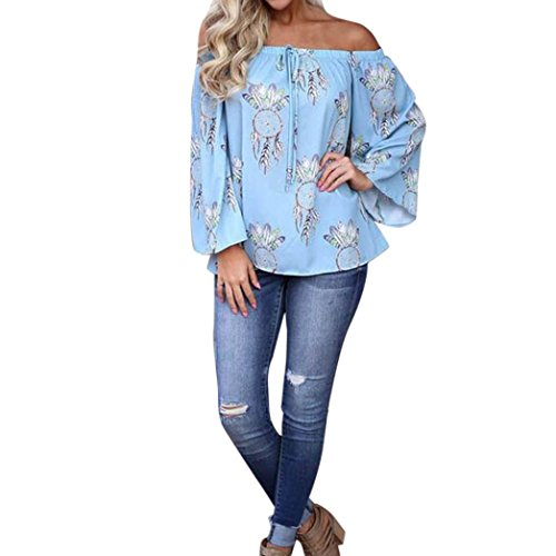 Alberar - Camisas - trapecio - para mujer Azul