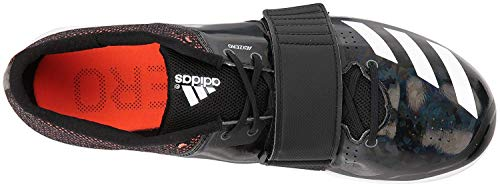 adidas Adizero tj/pv Running Shoe core Black, FTWR White, Orange 14.5 M US by adidas (Image #5)
