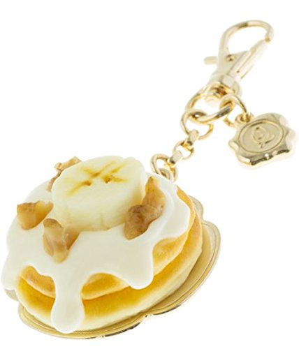 [Q-pot. Maple Cream Banana Pancakes Bag Charm New From Japan] (Custom Costumes Jewelry Wholesale)