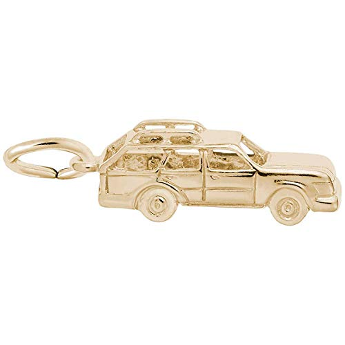 - Rembrandt Charms Station Wagon Charm, 14K Yellow Gold