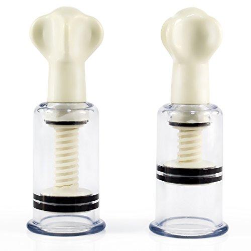 marielove Nippelsauger Brustwarzensauger für BDSM Bondage oder Schröpfen - Gewinde - 28mm - sehr stark