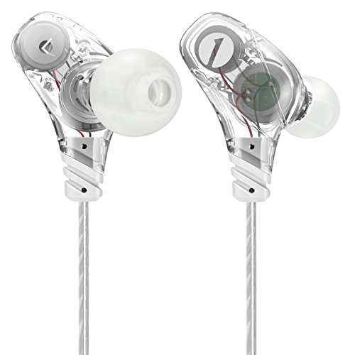 Professional Earphones Microphone Noise isolating Transparent