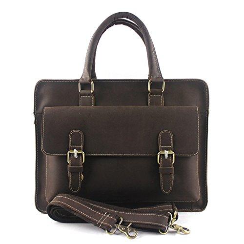 DJB/ Poliertes Leder Laptop Tasche Leder Mann Tasche/Freizeit/Herren Handtaschen