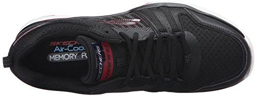 Skechers Quick Shift Tr - Zapatillas Hombre Negro - Schwarz (BKRD)