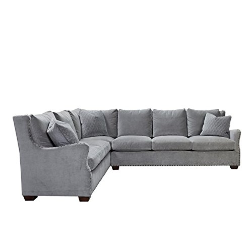 Universal Furniture 407511RSLC-200 Curated Collection Connor Sectional Right Sofa with Left Arm Corner