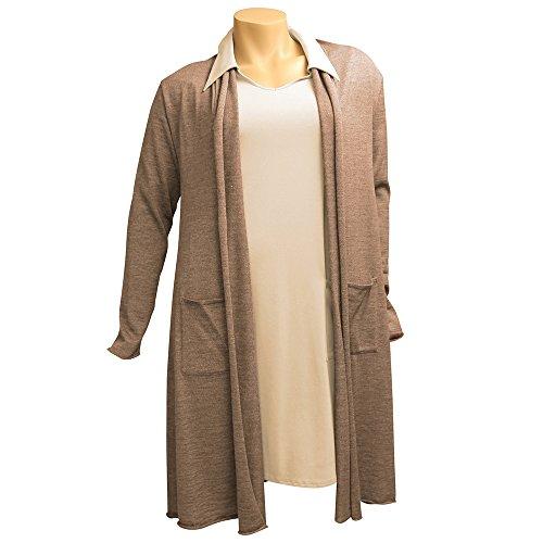 CAROLIN RICK - Jerséi - para mujer marrón claro