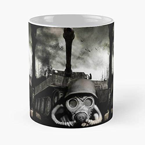 War World 2 German Tanks Weapons Coffee Mug Gift 11 Oz Father -