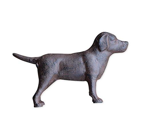 Cast Iron Labrador Dog Tabletop Décor- Brown