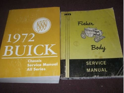1972 BUICK ESTATE GS LESABRE RIVIERA SKYLARK Service Repair Shop Manual SET ()
