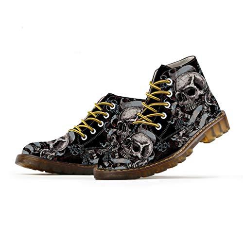 Stile Mens per Primavera Caviglia Qianliuk Uomo 2 Stivale Oxfords Scarpe alla Martins Scarpe Uomo Moda qA1wAE6