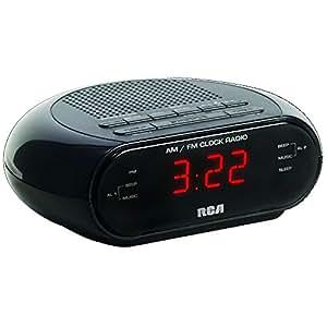 Rca RC205 Dual Wake AM/FM Alarm Clock