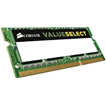 Corsair CMSO8GX3M1C1333C9 8GB (1x8GB) 1333MHz PC-10600 204-Pin DDR3 SODIMM Laptop Memory 1.35V