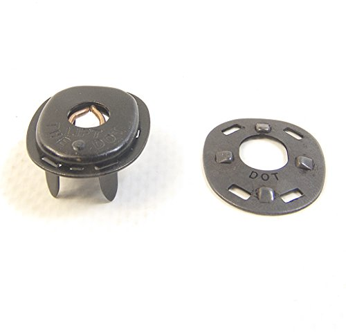 Lift-The-Dot Fastener's, Socket & Backing Plate, 10 Pieces