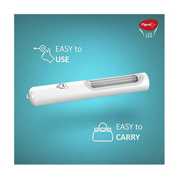 Pigeon-LED-ABS-Plastic-Sanitizing-Lamp-White