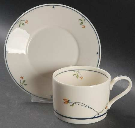 Gorham China Ariana Cup And Saucer set