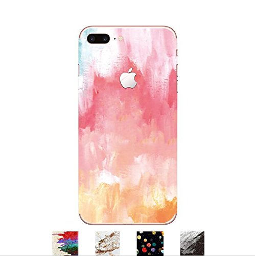 DowBier iPhone Premium 3M Vinyl Decal Skin Sticker Wrap Cover for iPhone (Pink Blooming, iPhone 6 Plus/iPhone 6s (Premium Vinyl Skin)